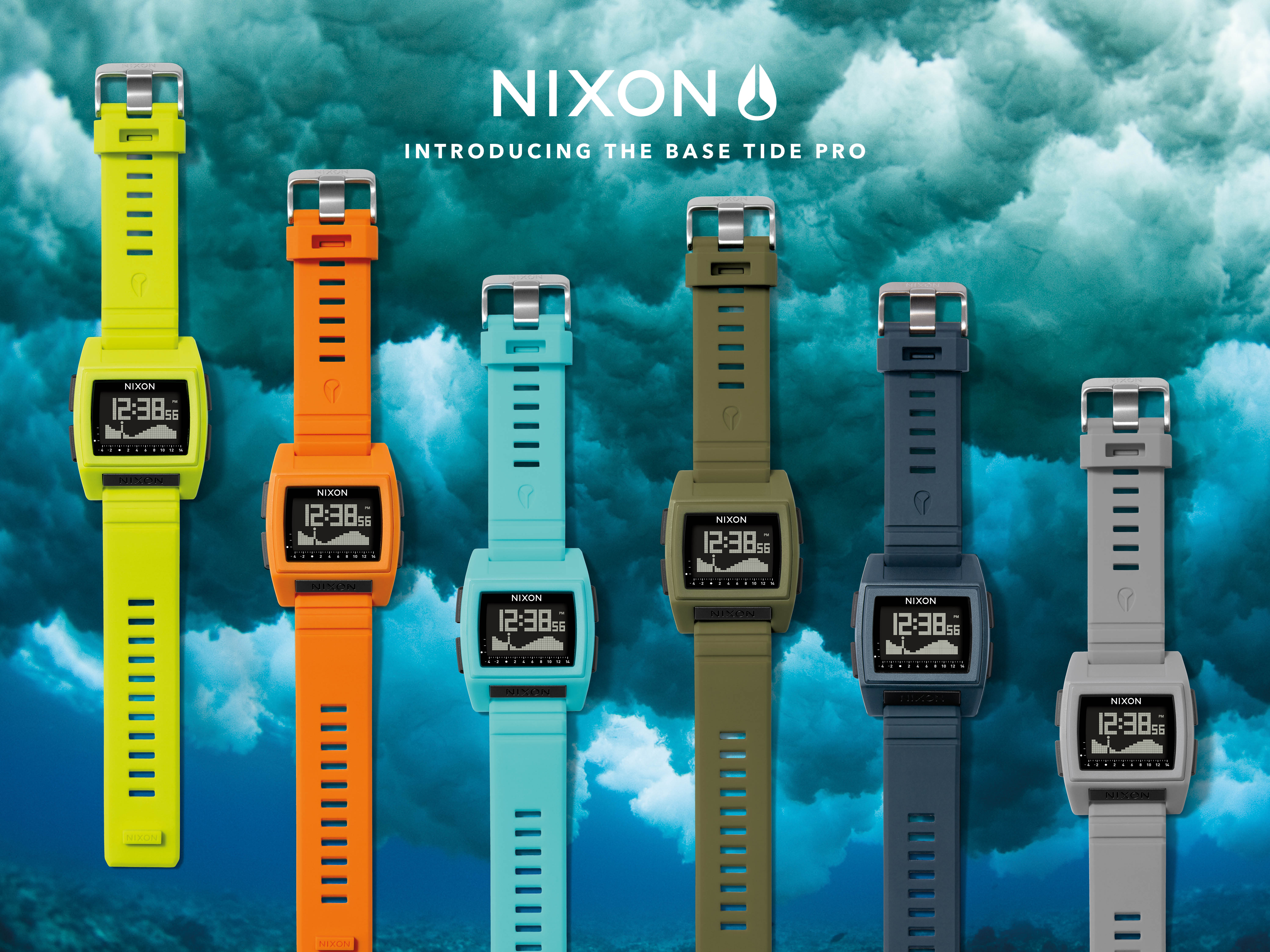 nixon s base tide pro will be available for purchase at premiere surf shops globally