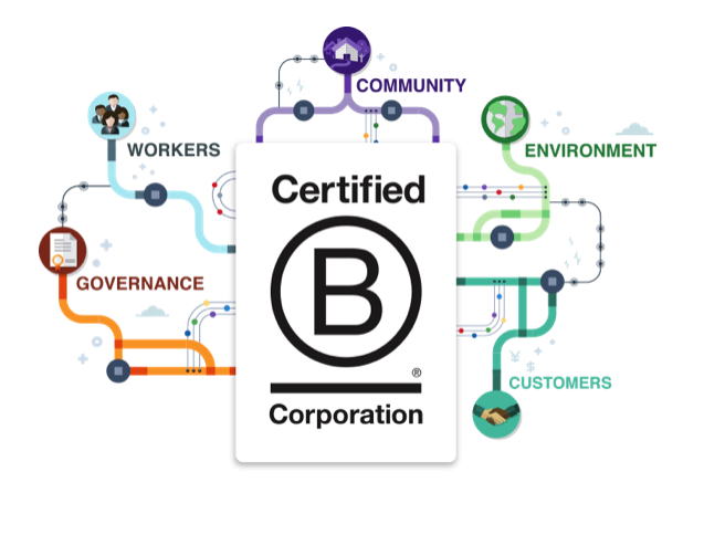 after meeting with b corp we thought their organisation was one that all of our members should get to know and for you to be given the opportunity to